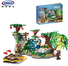 Xingbao Building Blocks Toys Gifts Jungle Adventure Speedboat Technology 720PCS