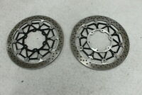 2017 SUZUKI GSXR1000 GSXR 1000 BREMEBO FRONT LEFT RIGHT BRAKE ROTORS DISCS