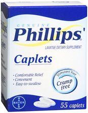Phillips Caplets 55 Caplets (Pack of 5)
