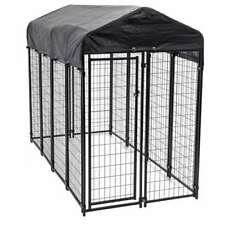 Lucky Dog Uptown Large Covered Kennel Heavy Duty Pet Cage Fence Pen (For Parts)