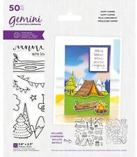Gemini - Stamp & Die - Happy Camper
