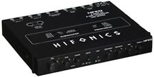 Hifonics HFEQ 4-Band EQ/2-Way Crossover Line Driver Amplified Car Audio System
