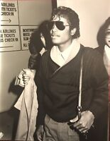 MICHAEL JACKSON ~ Rare USA Press Photograph taken July 1984 ~Future Collectables