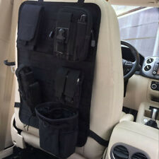 Molle Vehicle Car Seat Back Organizer Multi-Pocket Storage Bag Cover Protector