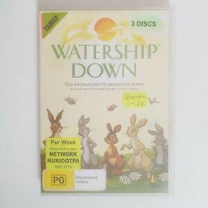 Watership Down TV Series DVD Region 4 AUS Free Postage 3 x Disc 24 Episodes