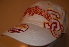 New USC Trojans Southern California Cap Hat women's adjustable cute white