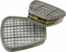 3M 6059 ABEK1 Ammoniaca & Acido Gas Iodinati Filtro / 6000 SERIE 1 Paio