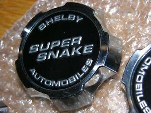 """SINGLE (1) one OEM Shelby Super Snake Wheel Center Cap Raised Letter 20"""" Alcoa"""