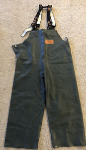 Grundens Herkules Commercial Fishing Bibs TrousersW/ Suspenders see pic for size