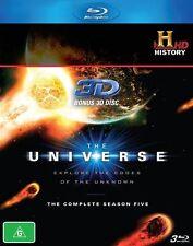 The Universe : Season 5 (Blu-ray, 2011, 3-Disc Set)