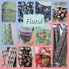 THE FLORAL COLLECTION - Hand Made Reusable Cotton Face Mask/Face Covering