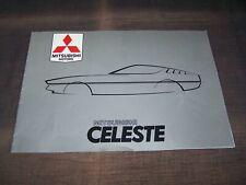 TOPRARITÄT Herrlicher Prestige Prospekt Mitsubishi Celeste von 1979 !!!