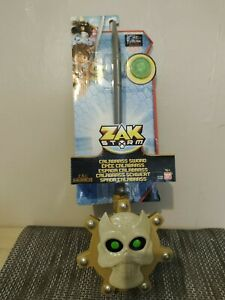 Zak Storm Calabrass Large Toy Sword with Collector Coin New Bandai 4 years plus
