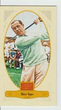 WALTER HAGEN 2012 mini Panini Golden Age Broadleaf # 25 Brown Print HOF Golfer