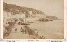 A354 Nice promenade du Midi Tirage original albumin photographie photograf