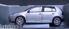 VW VOLKSWAGEN GOLF V 2003 SILVER METAL BURAGO 1/18 new