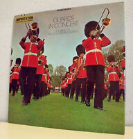 "33T GUARDS IN CONCERT MILITAIRES Disque LP 12"" BRASS BAND OF The COLDSTREAM RARE"