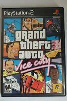 Grand Theft Auto: Vice City ORIGINAL VERSION FIRST PRINT (PlayStation 2, 2002)