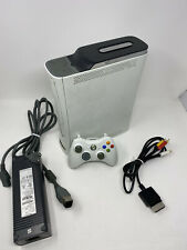 New listing Microsoft Xbox 360 120Gb Console System White Bundle Tested & Working