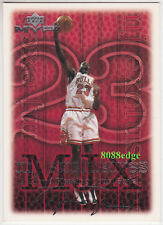 1999-00 UPPER DECK MVP SILVER SCRIPT SIGNATURE:MICHAEL JORDAN #183 PARALLEL CARD
