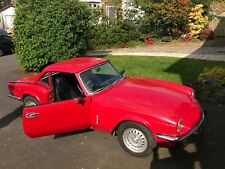triumph spitfire 1979 1500 with overdrive
