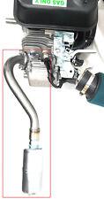 Center Rear Exhaust With Muffler for: Predator 212cc,79cc, Honda GX160,GX200