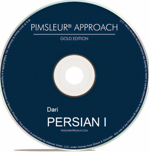 Pimsleur Dari Persian I - Level 1 (One) - 16 CDs - 30 Units