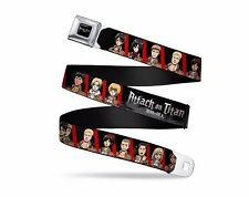 Attack On Titan Animated Military Scout Friend Seatbelt Belt