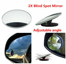 Car Blind Spot Mirror Adjustable Wide Angle for Parking Auxiliary Rearview Pair