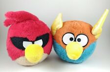 Angry Birds Space Plush Lightning Blue & Super Space Red