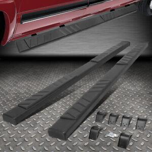 "FOR 09-20 RAM 1500-3500 QUAD CAB BLACK 5"" FLAT SIDE STEP NERF BAR RUNNING BOARD"