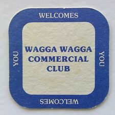 Wagga Wagga Commercial Club Welcomes You Coaster (B333)