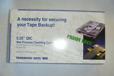 """Tandberg 8962 50 Cleanings 1/4"""" QIC Tape Drive New Cleaning Kit"""