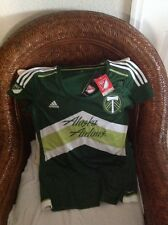 ADIDAS CLIMACOOL PORTLAND TIMBERS MLS SOCCER JESEY  NEW WITH TAG size L womens