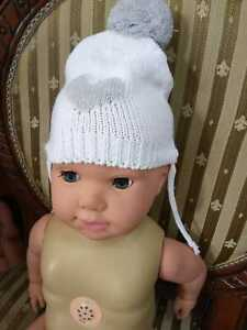 Newborn Wool Soft Cap Lovely Infant Baby Boys Hats Toddler Hat Beautiful