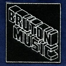 Bruton Music Library • Embroidered Iron On Patch • KPM DeWolfe Studio G Chappell