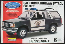Lindberg 72586-California Highway Patrol Explorer - 1:20 - AUTO KIT-KIT