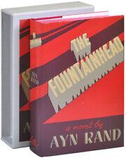 Ayn Rand-THE FOUNTAINHEAD-FIRST EDITION LIBRARY-FACSIMILE EDITION-FINE/FINE W/SC