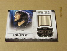 2015 Country Music Musician Materials Silver #27 Neil Perry SN 012/299