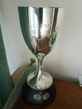Old  engraved Challenge Cup trophy 1922.