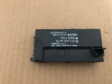 MERCEDES BENZ OEM W219 CLS E CLASS KEYLESS ENTRY REMOTE CONTROL MODULE