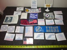 big lot car Stickers & Window Decals Detroit Lions Flags Troop Support Veterans