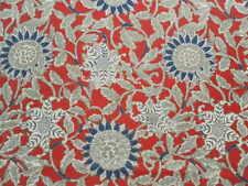 Ralph Lauren Curtain Fabric COTE D'AZUR 1.5m Poppy Floral Design 150cm