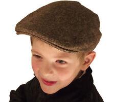 Chapeaux marrons pour garçon de 2 à 16 ans