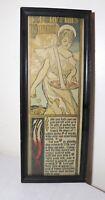 antique 1800's original Gordon Ross hand colored gravure print illustration art