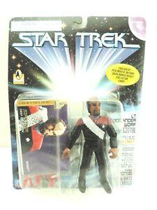 1996 STAR TREK DEEP SPACE NINE LT COMMANDER WORF W/30TH ANNIVERSARY CARD 16033