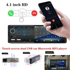 HD Touch Screen Dual USB Car Bluetooth MP3 Player Card Radio Host Phone Charger