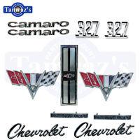 1967 Camaro 327 Standard Emblem Kit Std New 67