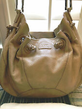 UGG Beige Genuine leather one of a kind beautiful purse with dust bag