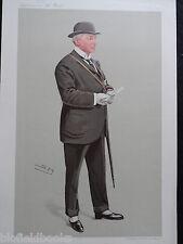 """Original """"el mundo"""" suplemento impresión de Richard Marsh c1910-caballo de carreras entrenador"""